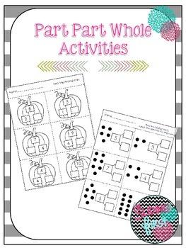 Part Part Whole Activities {freebie}