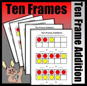 Part, Part, Whole Addition - Making Addition Sentences (Colored Version)