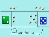 Part-Part-Whole Addition Math - Kinder - Smartboard - Envision