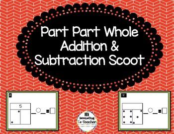 Part Part Whole Addition & Subtraction Scoot