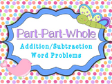 Part Part Whole Addition/Subtraction Word Problems Task Cards (Within 20)