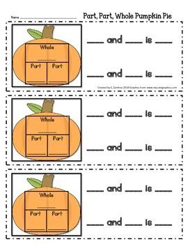 """Part, Part, Whole: """"Apple Crunch/Pumpkin Pie"""""""