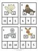 Part, Part, Whole - Arctic Math Clip-it!