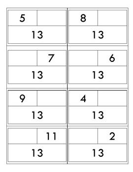 Part-Part-Whole Cards: 11-20