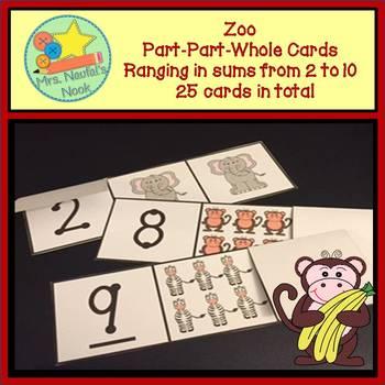 Part Part Whole - Zoo Theme
