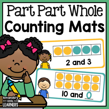 Part Part Whole Counting Mats