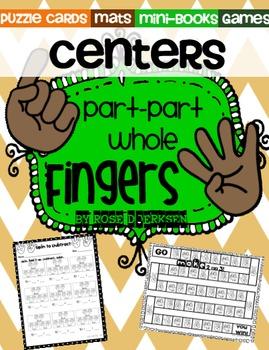Part-Part-Whole Fingers {Center Activities}