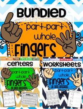 Part-Part-Whole Fingers {Practice & Play Bundle}