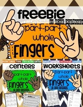 Part-Part-Whole Freebie {Practice & Play}