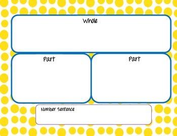 Part-Part-Whole Mat