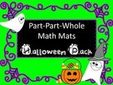 Part-Part-Whole Math Mats for Halloween