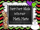 Part-Part-Whole Math Mats for Winter