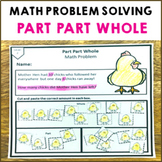 Part Part Whole Math Problem Solving Activity Pack 12 Diff