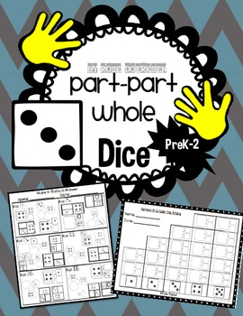 Part Part Whole Math with Dice
