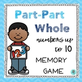 Part Part Whole Memory Game