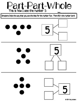 Part Part Whole (Number 5): How I See Numbers-