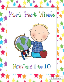 Part Part Whole - Numbers 1 to 10 - Common Core Math