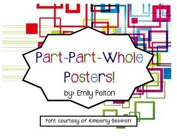 Part-Part-Whole Posters