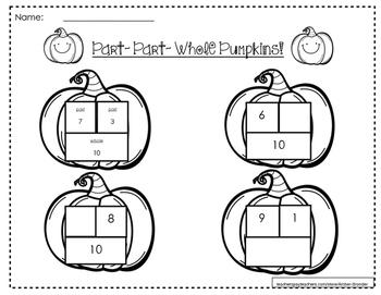 Part-Part-Whole Pumpkins