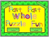 Part Part Whole Puzzle Fun! (Common Core Aligned)
