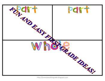 Part Part Whole Puzzle Fun! (Common Core Aligned)