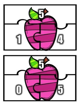 Part Part Whole Puzzles: Addition 0-10