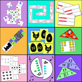 Part Part Whole Puzzles, Games and Math Centers