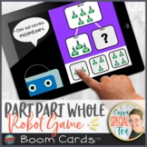 Part Part Whole Robot Game BOOM Cards™