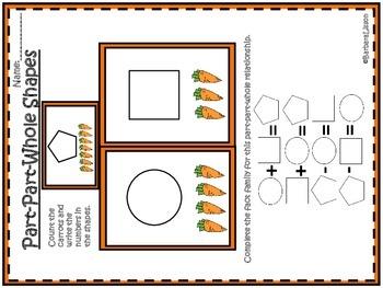 Part-Part-Whole Shapes Common Core MAFS Envision