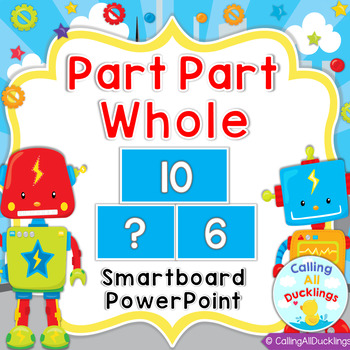 Part Part Whole Smartboard and Powerpoint