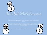 Part Part Whole Snowmen Number Bond Game