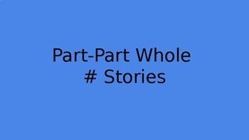 Part-Part Whole Stories