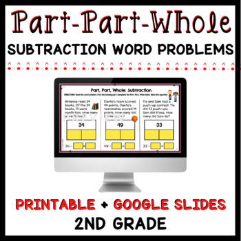 Part, Part, Whole: Subtraction