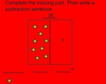 Part-Part-Whole Subtraction Conceptual