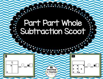 Part Part Whole Subtraction Scoot