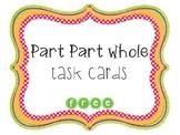 Part Part Whole Task Cards