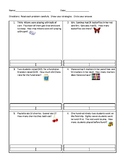 Solving Word Problems with Unknowns Part Part Whole Word P