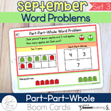 Part-Part-Whole Word Problems Boom Cards™