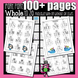 Add & Subtract First Grade | Part Part Whole to 20 | Dista