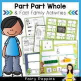 Part Part Whole & Fact Family Activities
