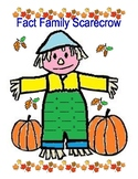 Fall Part Part Whole and Fact Family Centers and Activity