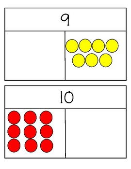 Part Part Whole to 10 Dot Cards