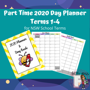 Part-Time 2020 Day Planner NSW Terms 1-4