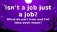 Part Time V. Full Time Jobs