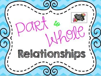 Part To Whole Relationships