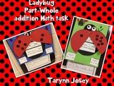 Part-Part-Whole Ladybug Addition Task