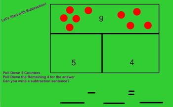 Part Whole Lesson to Connect Addition and Subtraction