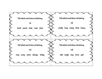 Part of Speech Grammar SCOOT Game 3rd Grade ~ FUN ELA Activity ~ CCSS