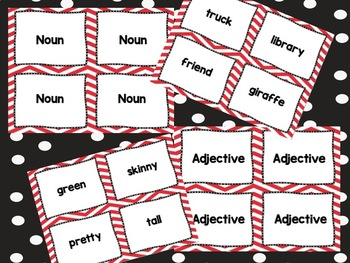Part of Speech Memory Game