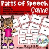 Part of Speech Memory Game